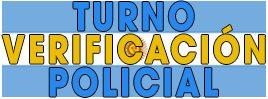 Turno verificación policial